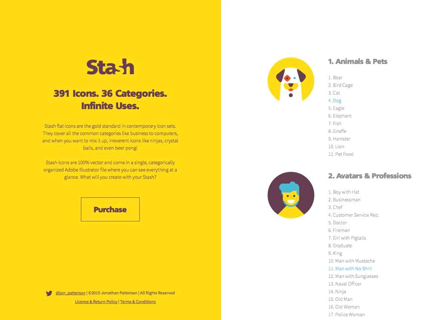 Флэт дизайн сайта